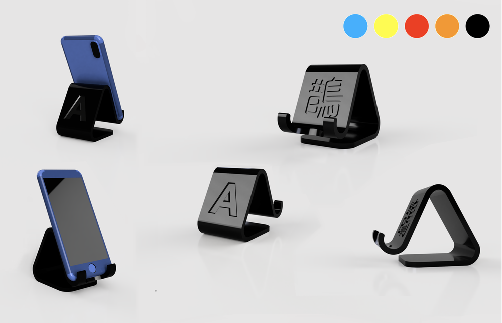 Image of Custom Made  3D Printed Phone Stand