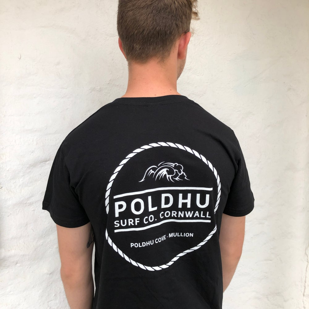 Poldhu Surf Co. Unisex Tee - Black