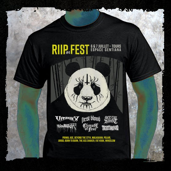 Image of RIIP Fest T-shirt // 18' edition