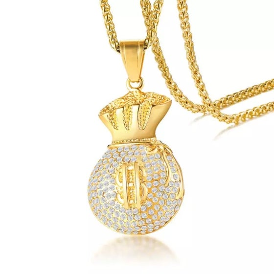 Image of Secure The Bag Necklace