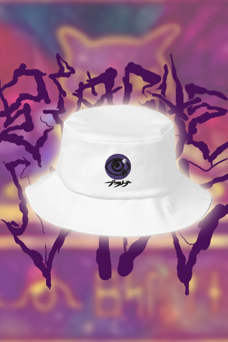 Image of PSYCHHH™ Bucket hat - White