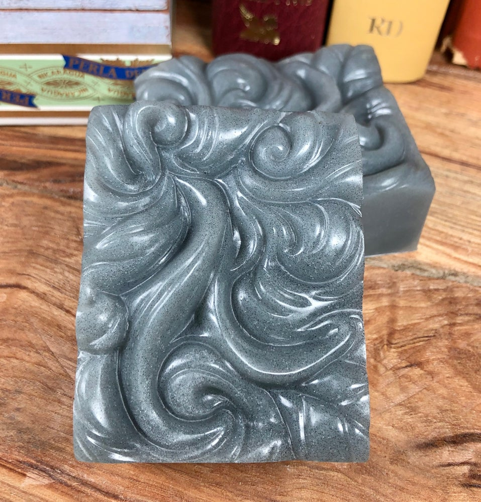 Image of Charcoal and Tea Tree Facial Soap with Aloe