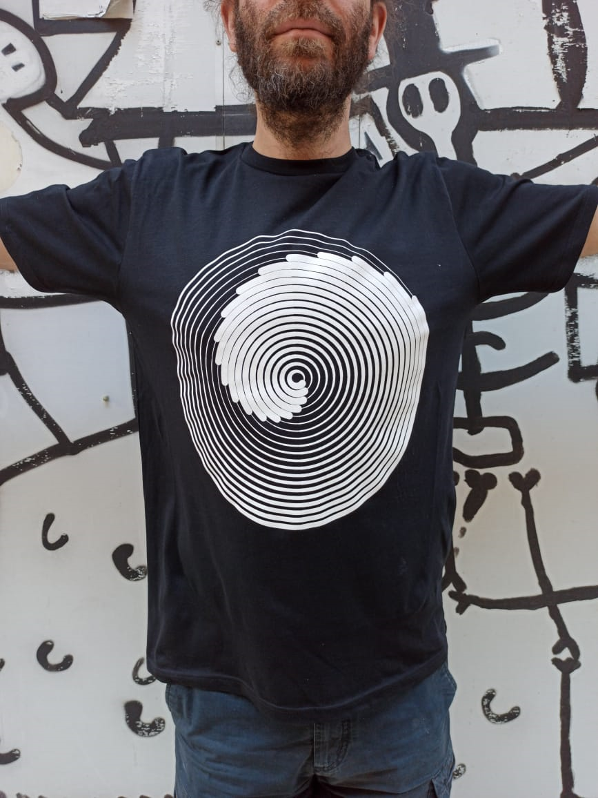 Oscillation, the return / silkscreen t-shirt