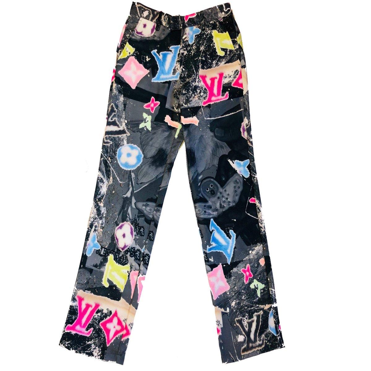 Image of Black Angel Hands Pants