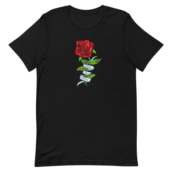 Image of FUCK YOU FOREVER BLACK UNISEX T