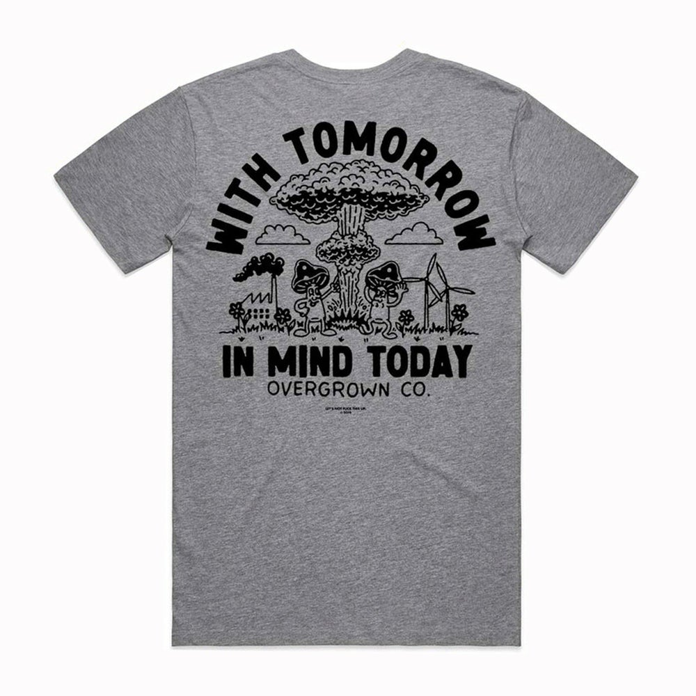 Image of 'NUCLEAR HOLIDAY' TEE IN GREY