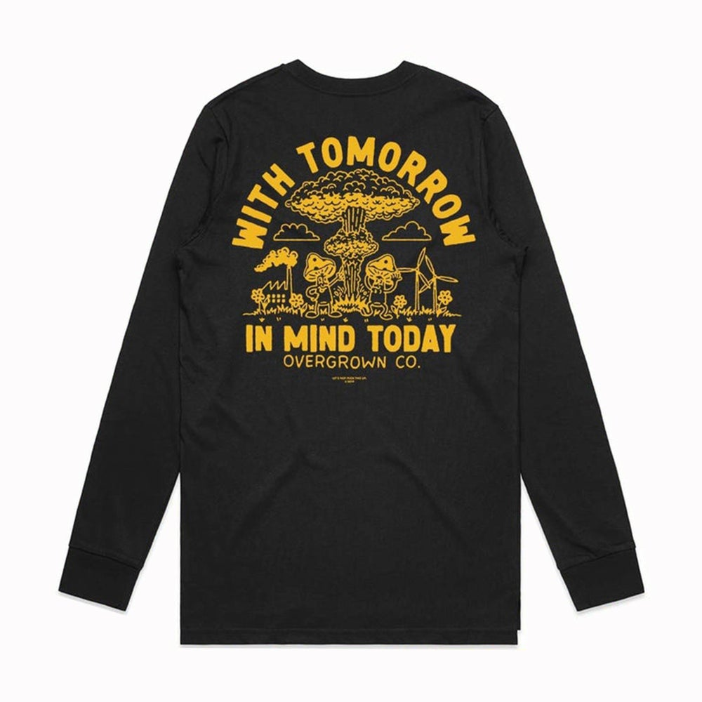 Image of 'NUCLEAR HOLIDAY' LONGSLEEVE IN BLACK