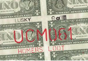 Image of Uncut Dollar Original. Homers Loot.