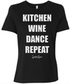 Kitchen, Wine, Dance, Repeat Shirt
