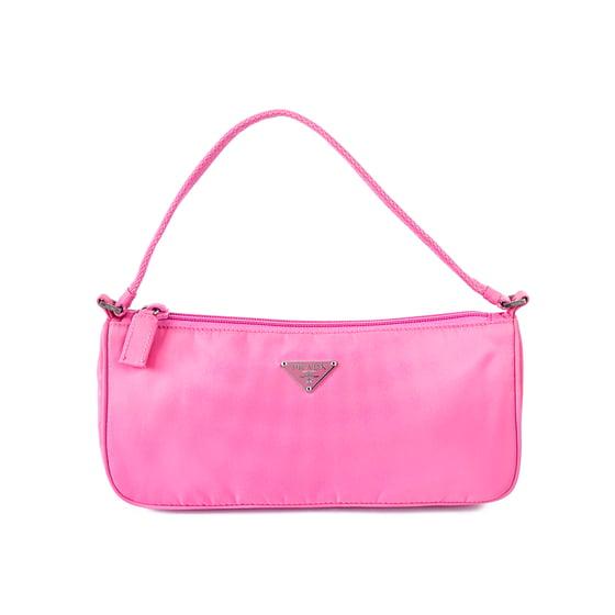 Image of Prada Tessuto Pink Handbag MV633
