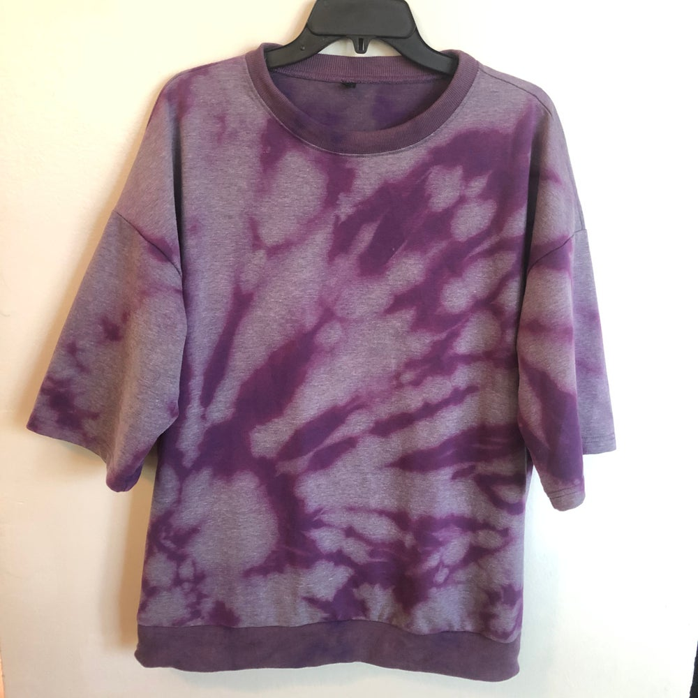 Image of Purple Rain Short Sleeve Crew Neck - XXL