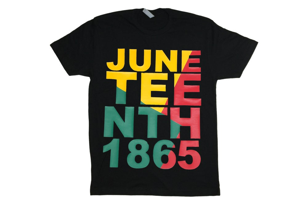 Image of Juneteenth T-shirt Black