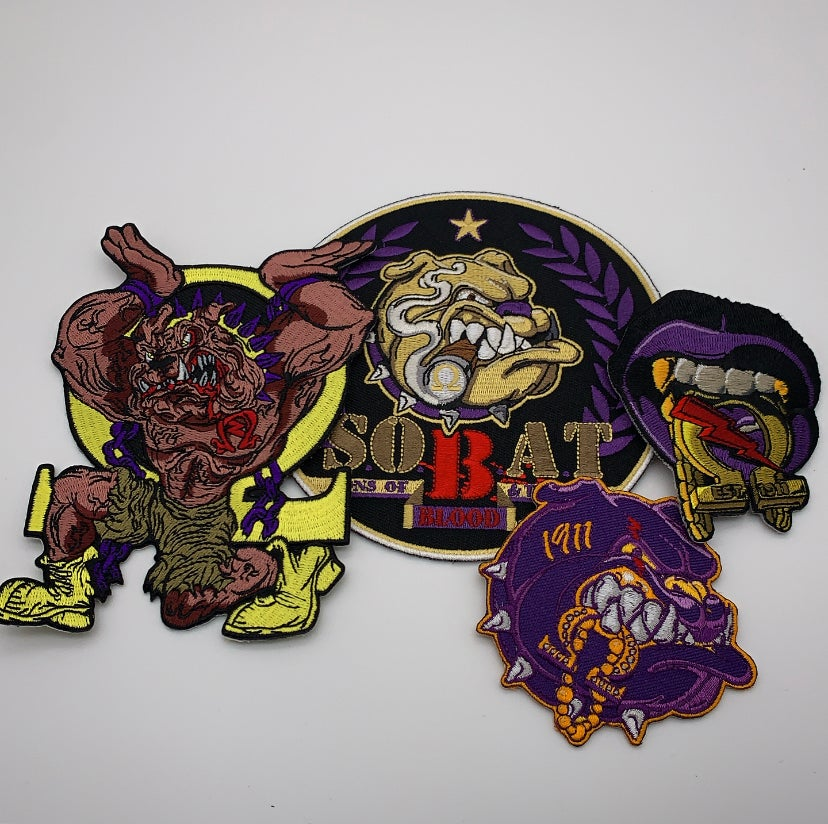 Image of Purple & Gold Patch Kit