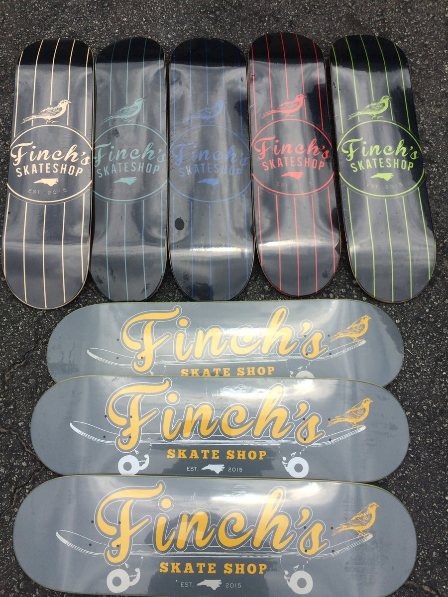 Image of Finch's Skate Shop Deck