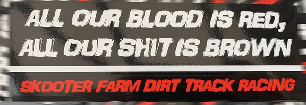 Image of All Our Blood... Sticker