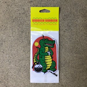 Image of RR #117 Death By Coffee Alligator Coffee Air Freshener