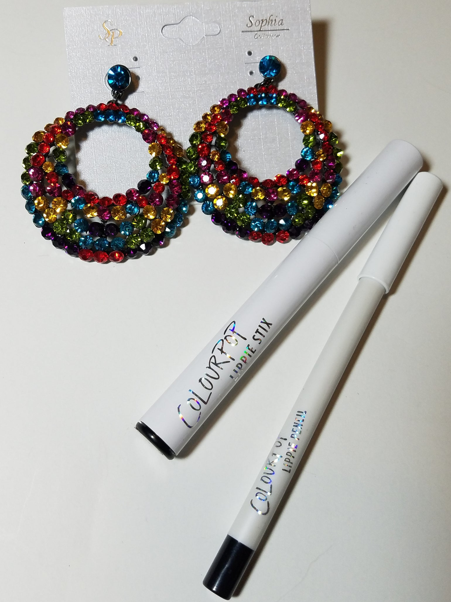Image of ColorPop Lippies Plus Bling Ear Candy Bundle