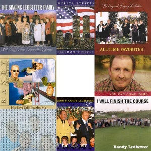 Image of Randy Ledbetter CD's