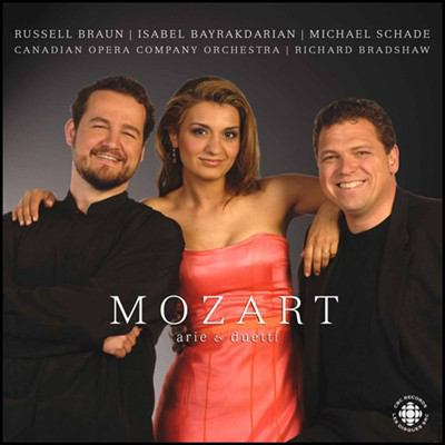 Image of Mozart: Arie e Duetti (Autographed CD)