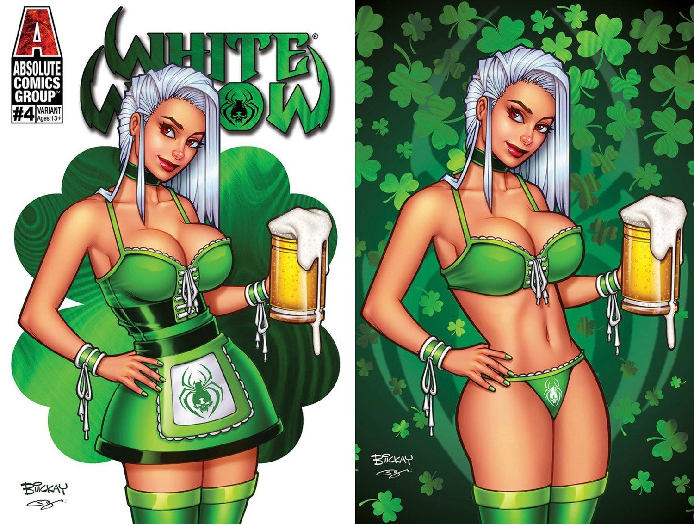 White Widow 4 St. Patrick's Day Foil Exclusive Set