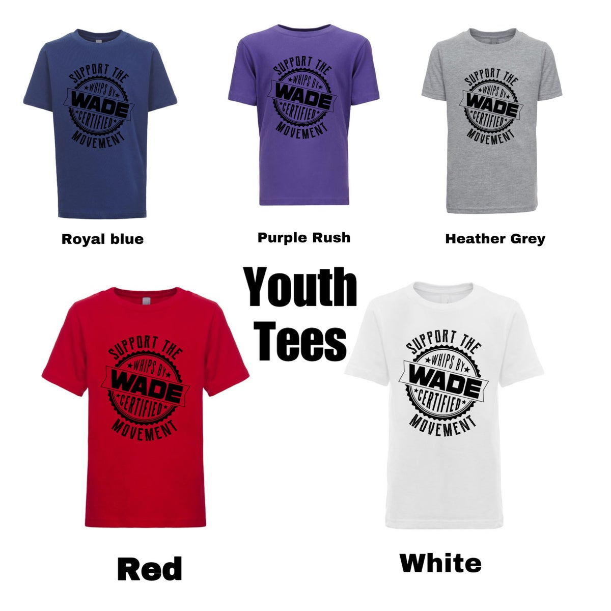 Image of Kids Support The Movement Tee * Pre Order *