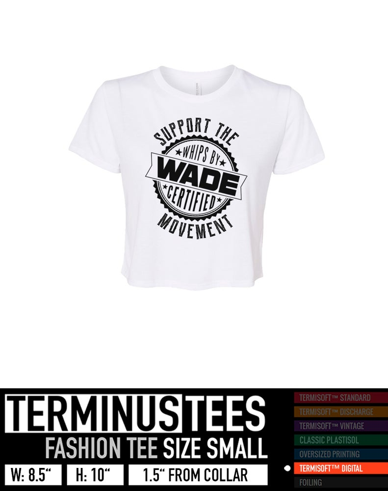 Image of Support The Movement Crop Tee * PRE - ORDER