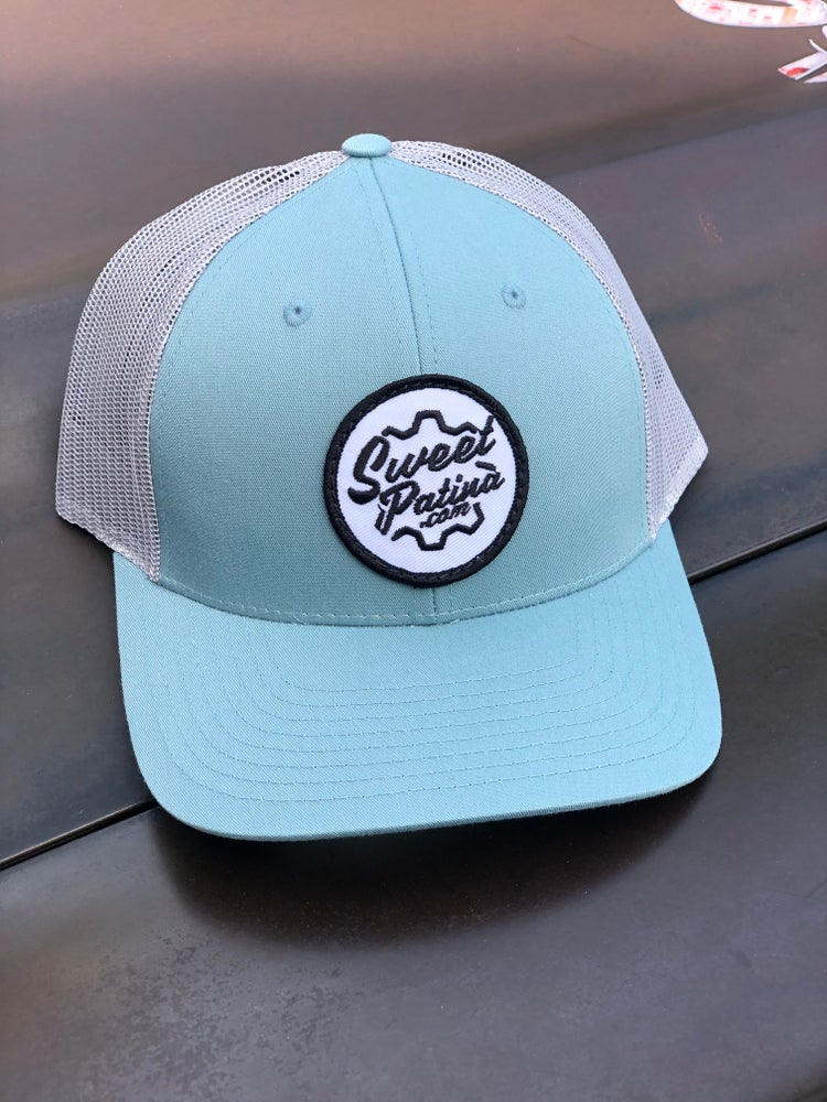 Image of Smoke Blue Gear Patch Hat