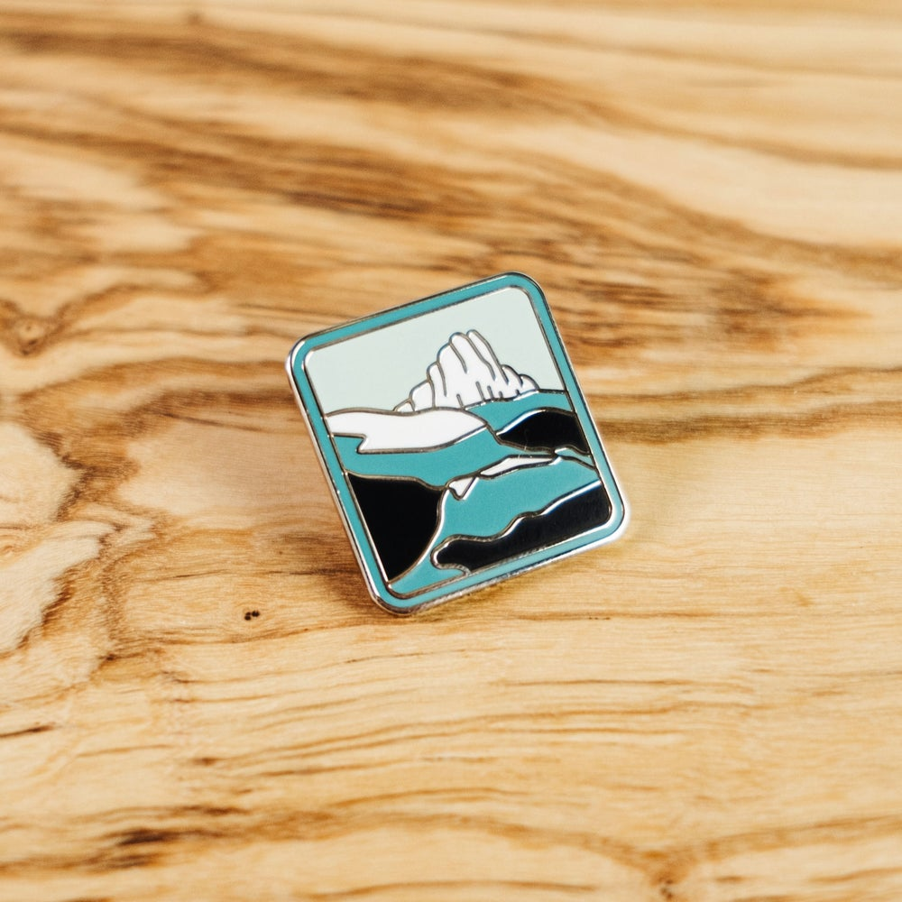 The Avalanche Enamel Pin