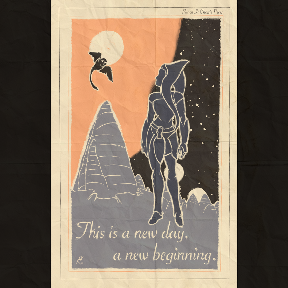 A New Beginning Print - Helping Hand Fundraiser