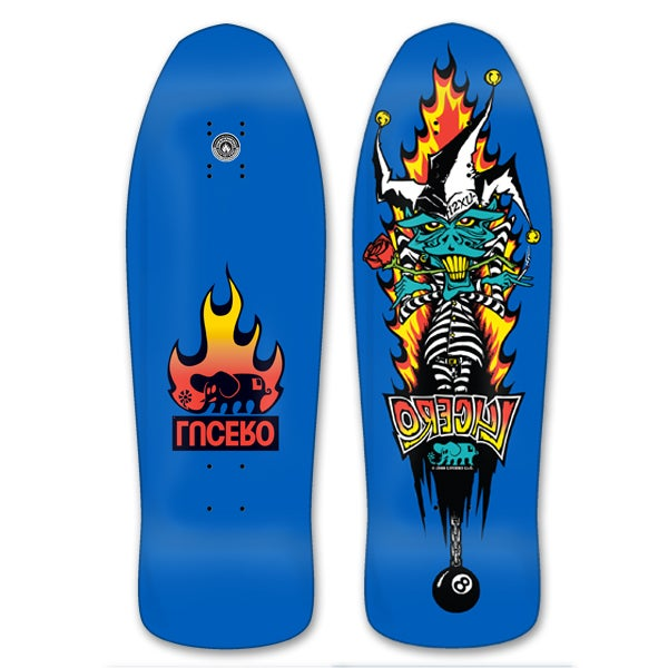 "Image of LUCERO 12XU Reissue Blue Dipped Deck 10"" x 31.25"""
