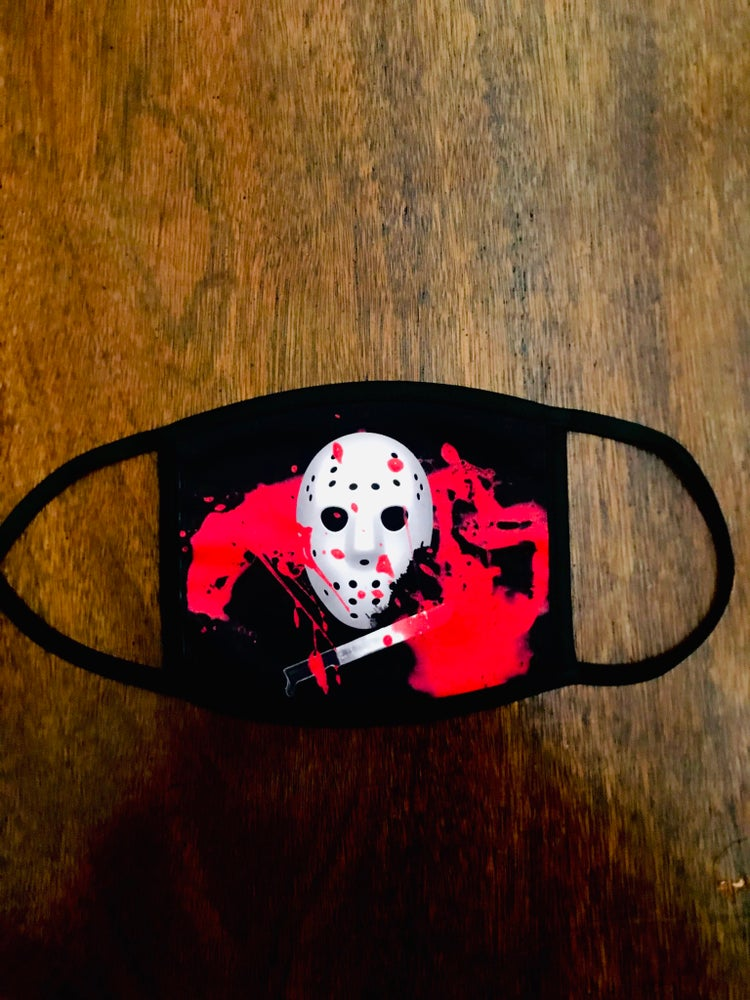 Image of Camp Blood Face Mask