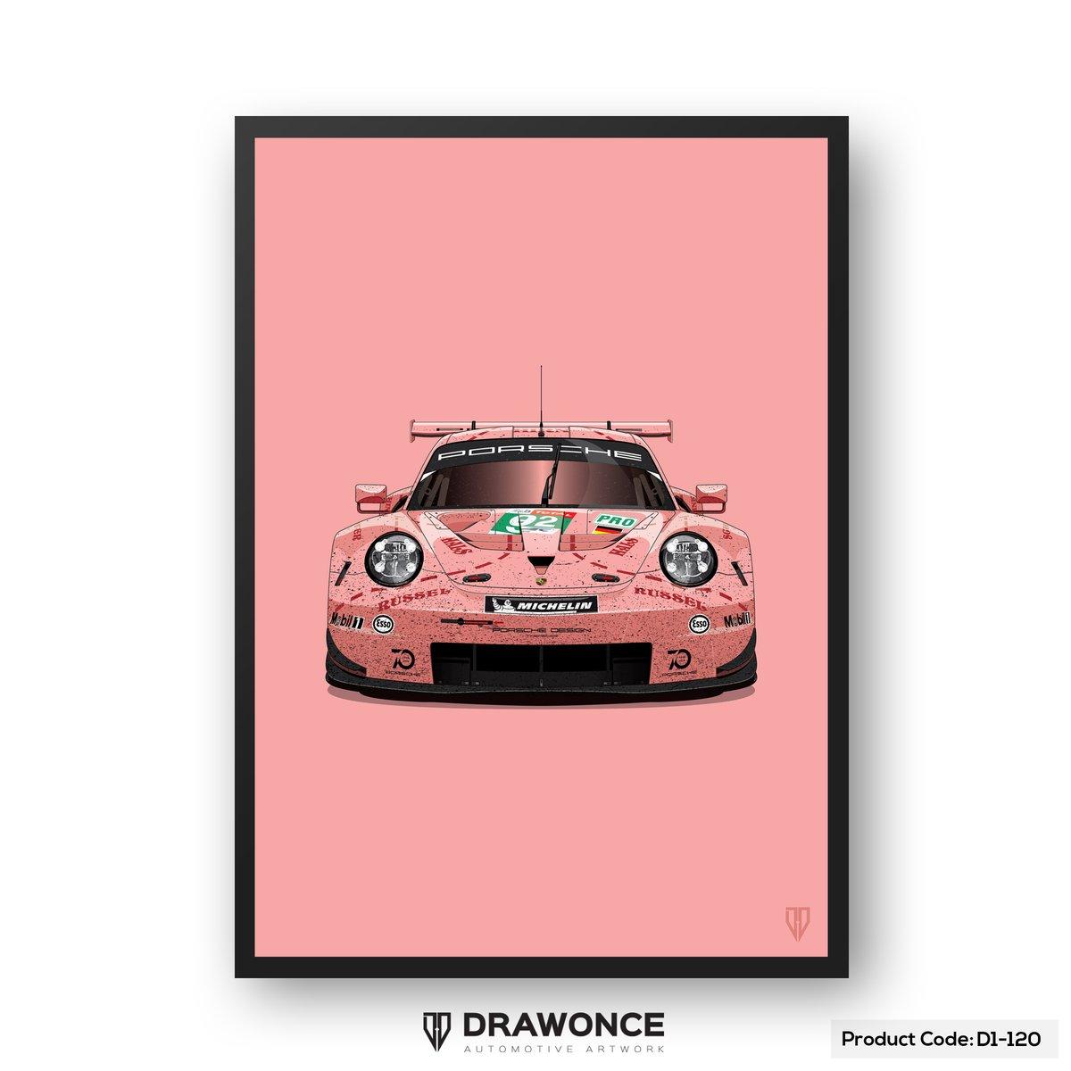 #92 Pink Pig Porsche RSR (D1-120)
