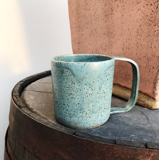 Image of New! Metallic blue Large mug