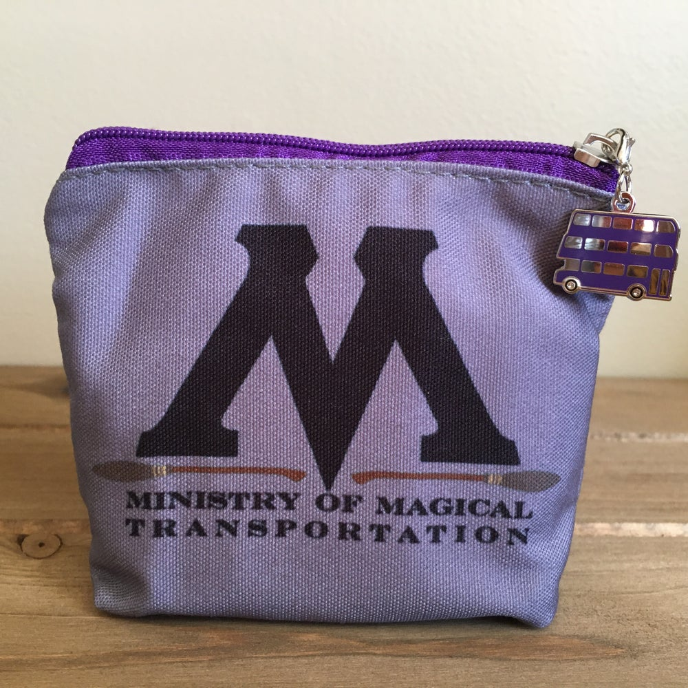 Image of Ministry of Magical Transportation Coin Bag