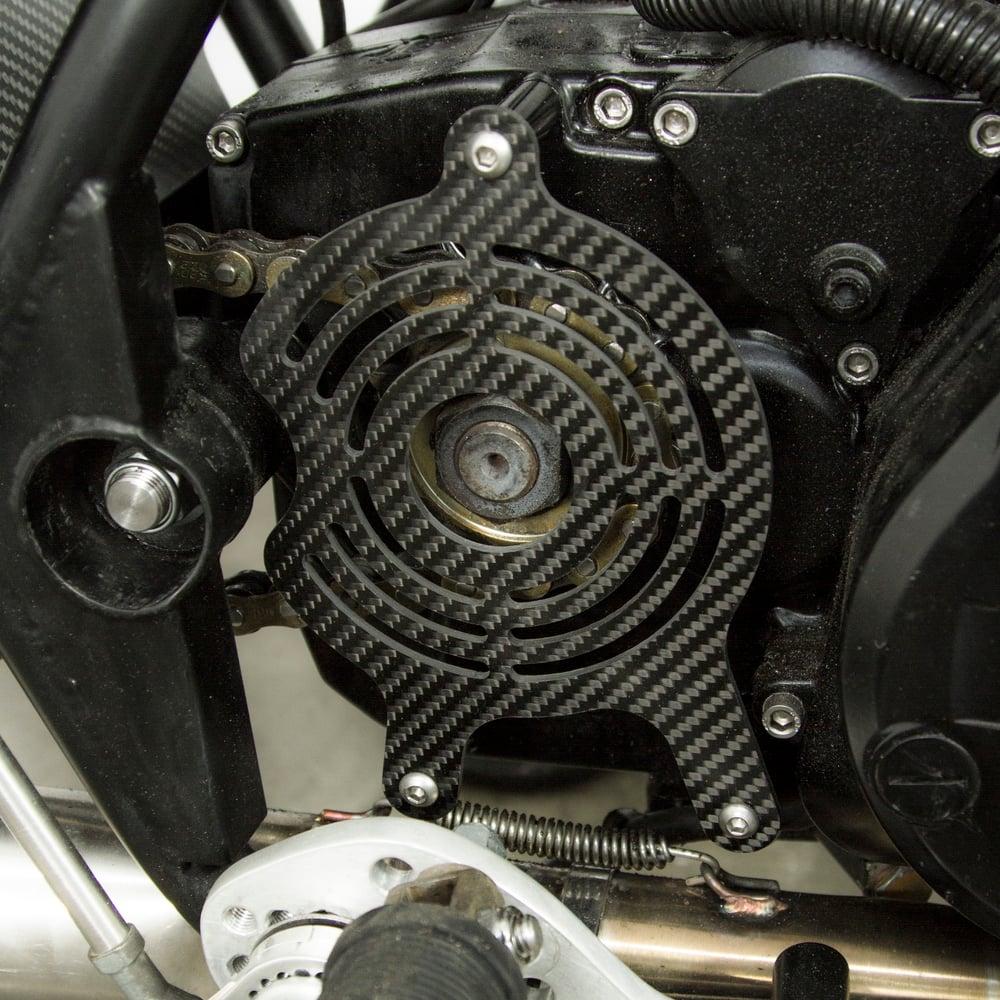 Carbon Rotax Sprocket Guard