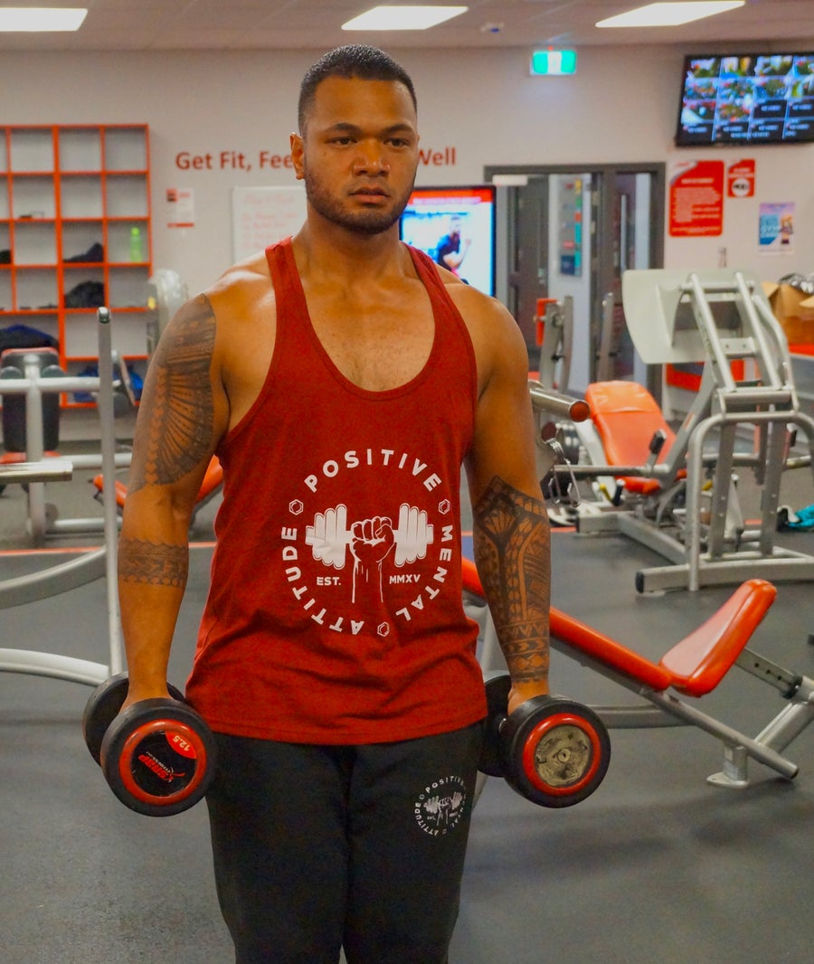 Image of PMA Fitwear Stringer - Red