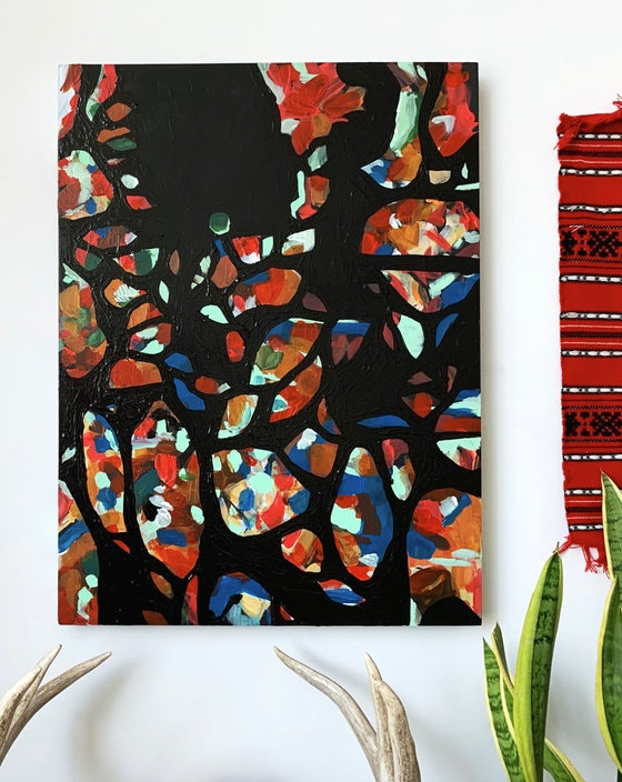 Image of June- Original Acrylic Painting