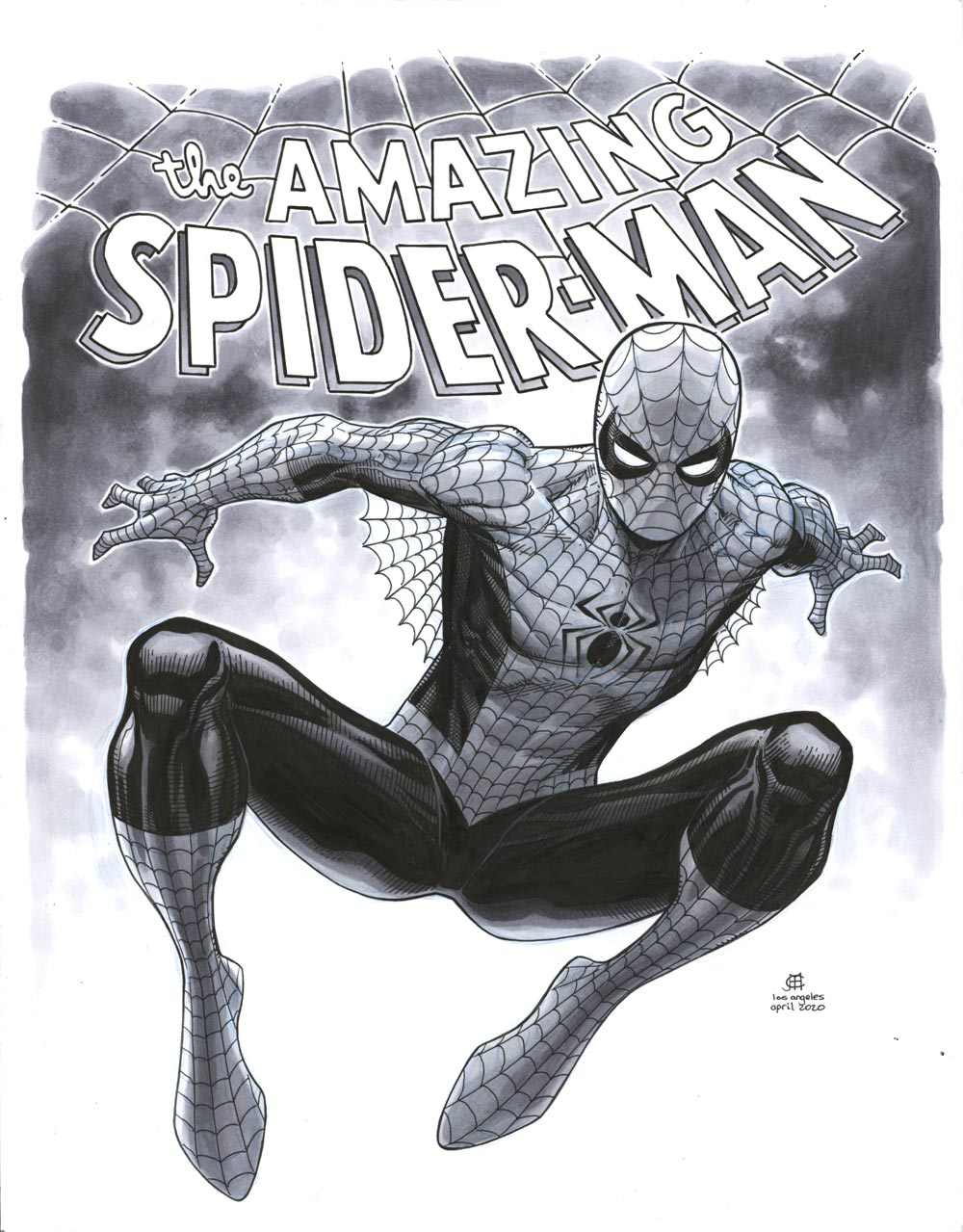 Image of AMAZING SPIDER-MAN Sketch - ON HOLD