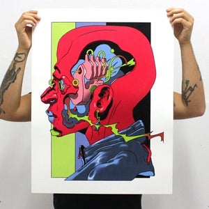 Image of Contemporary Fine Art Screenprint • SOTB Artist