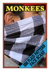 MM Plaid Pattern Face Scarf