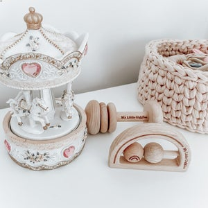 Image of KEEPSAKE BABY RATTLE