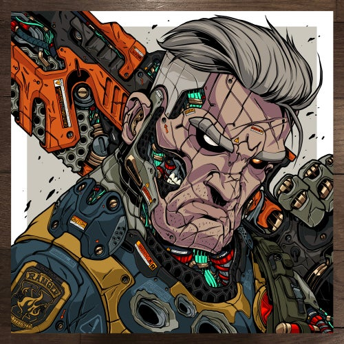 Image of MECHASOUL DEADPOOL + CABLE