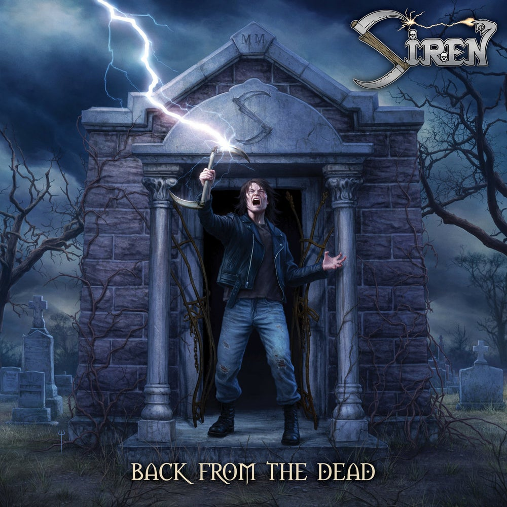 SIREN - Back From the Dead CD