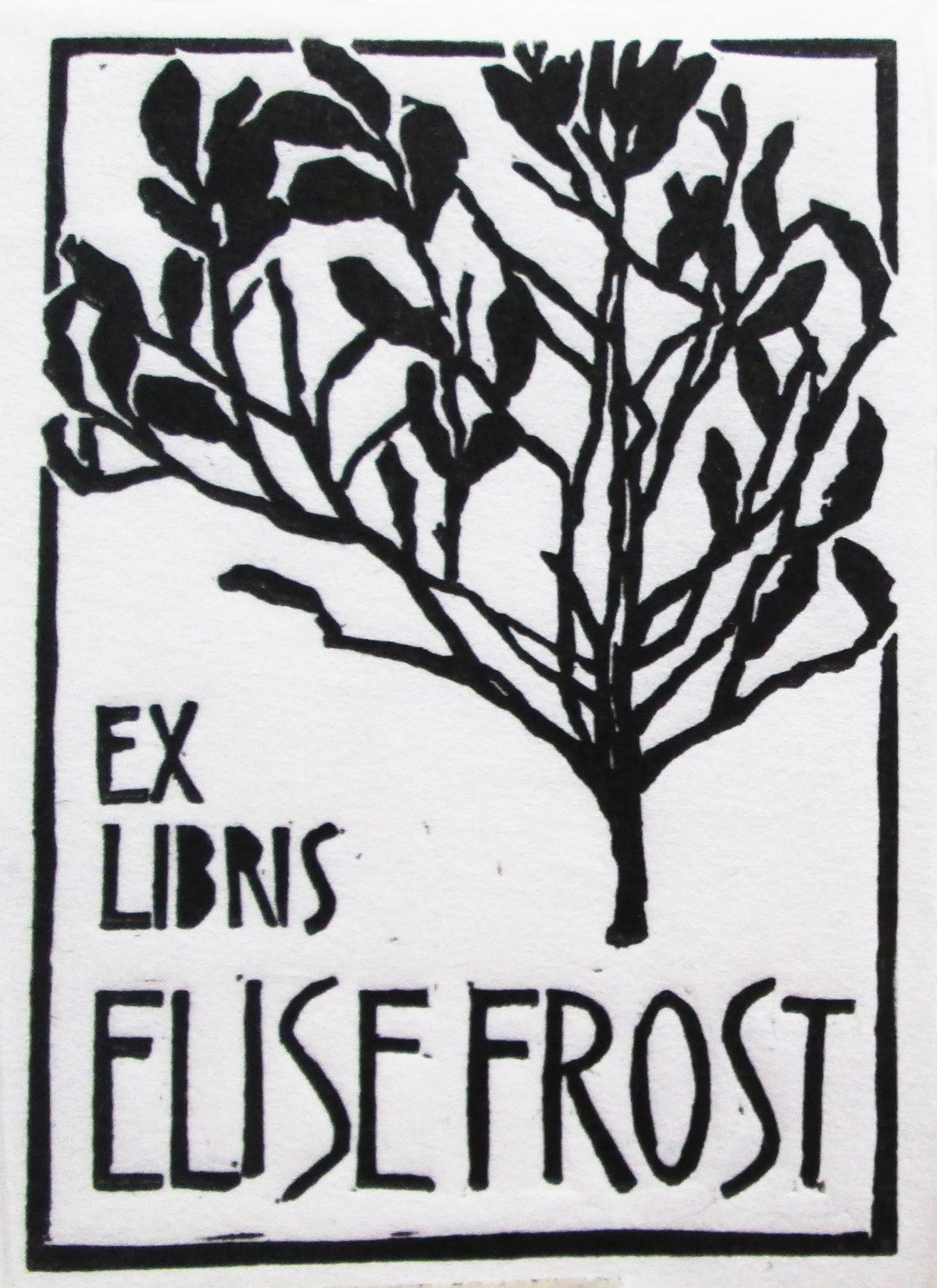Image of Linocut Bookplates from Design to Edition