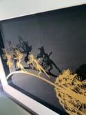 A Big Adventure - Fantasy Wire Papercut