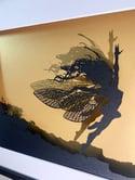 Anemoi - Fantasy Wire Papercut Picture