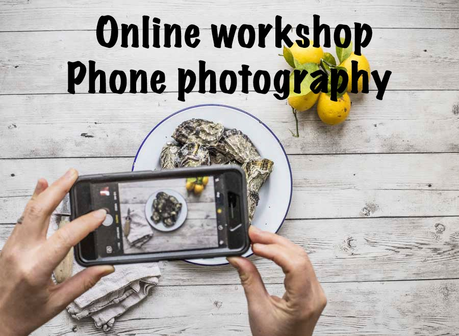 Image of Online Phone Photography and food styling workshop