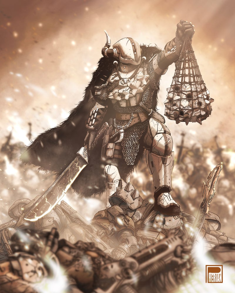 Image of Shaxx The Warlord