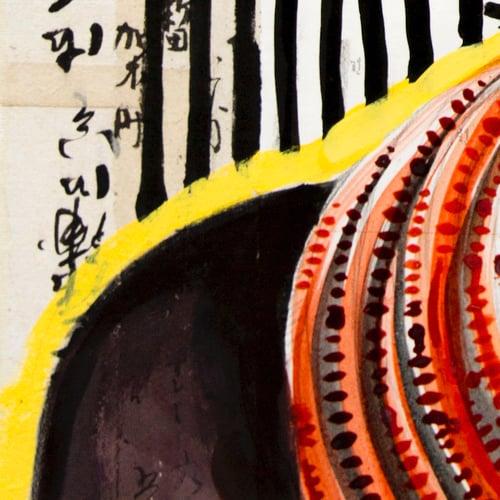"""Image of Paper Art Print - """"Matifou"""""""