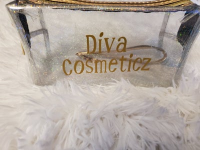 Image of DIVA COSMETICZ WATERPROOF GLAM MAKEUP POUCHES.